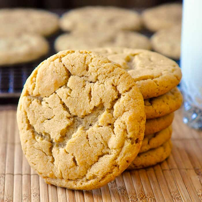 ... peanut butter cookie; soft chewy and full of peanut butter flavour
