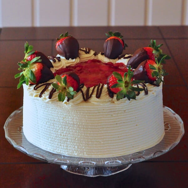 Strawberry Black Forest Cake Aka Screech