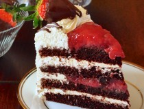 Strawberry Back Forest Cake