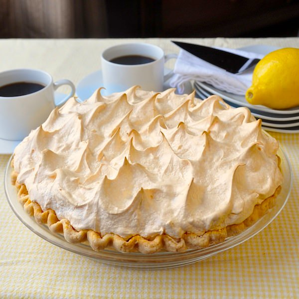 Homemade Lemon Meringue Pie - Rock Recipes - Rock Recipes