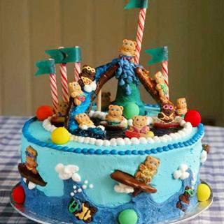 Happy 6TH Birthday Lilli!! Teddy Bear Pool Party!!