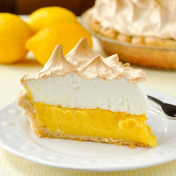 Homemade Lemon Meringue Pie - old fashioned & scratch made! - Rock ...