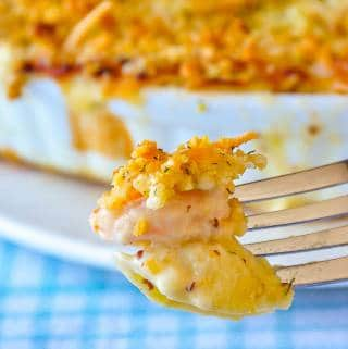 Seafood Shells and Cheese