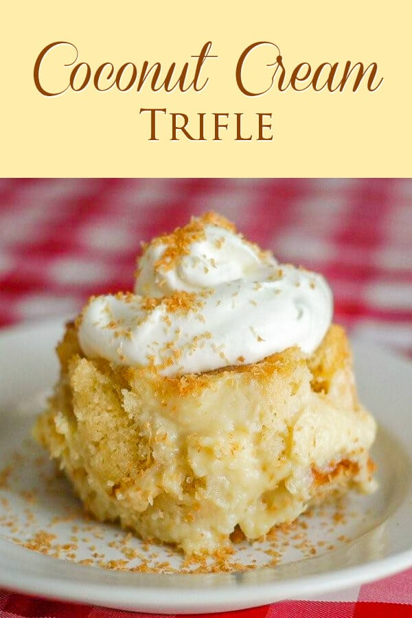 Coconut Cream Trifle
