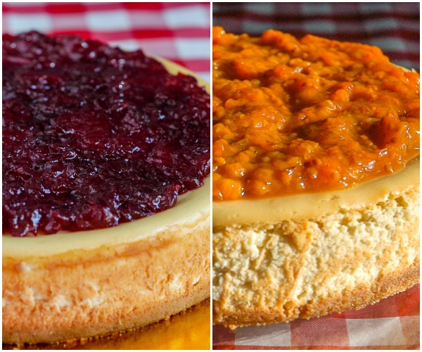 Partridgeberry Or Bakeapple Cheesecake. A near impossible choice for a true Newfoundlander.