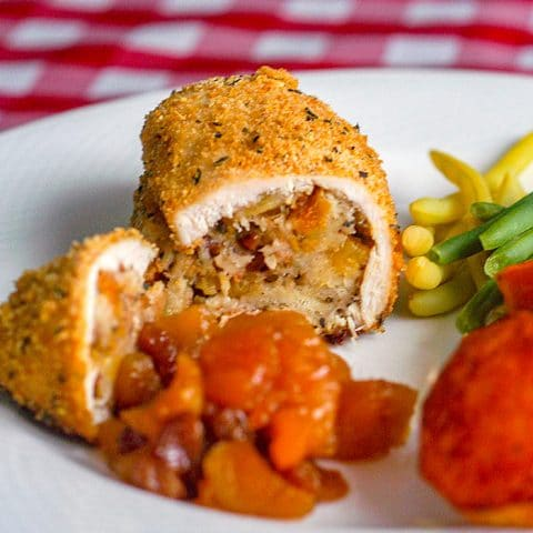 Apricot Pecan Stuffed Chicken Breasts