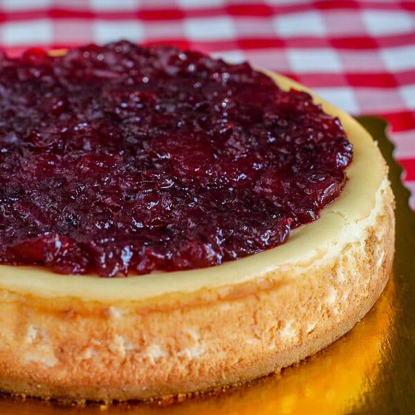 Partridgeberry Apple Cheesecake