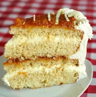 Bakeapple Amaretto White Chocolate Mousse Cake