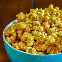 Olivia's Killer Karamel Korn a.k.a. Easy Caramel Popcorn