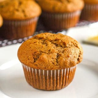 Sweet Potato Spice Muffins square cropped featured image