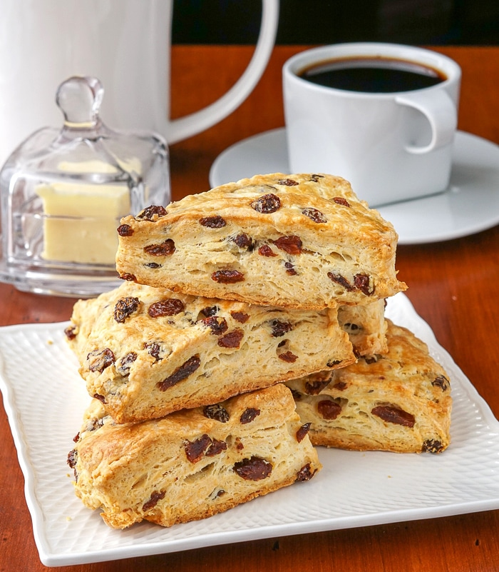 Sugar Free Scones served with coffee