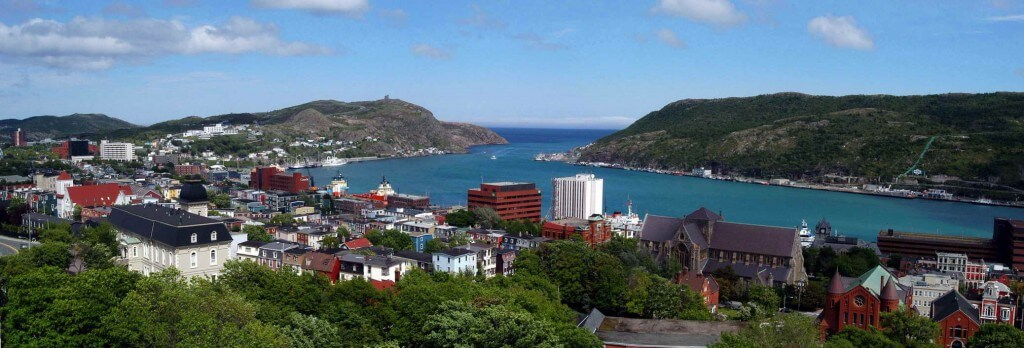 Panorama of St. John's from the Rooms