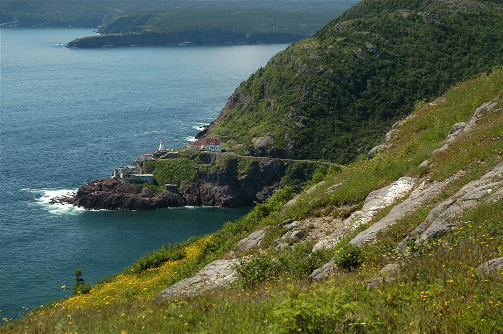Fort Amherst at the mouth of St. John's Harbour