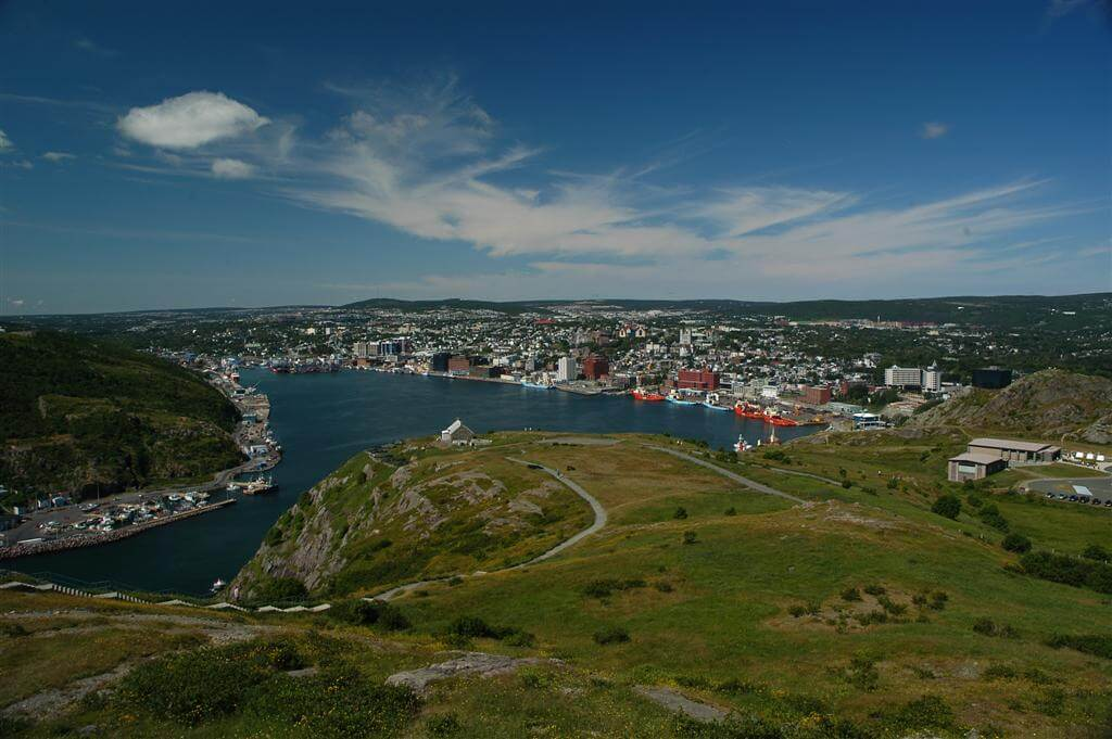 St. John's Harbour and Downtown