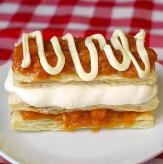 Bakeapple White Chocolate Napoleons