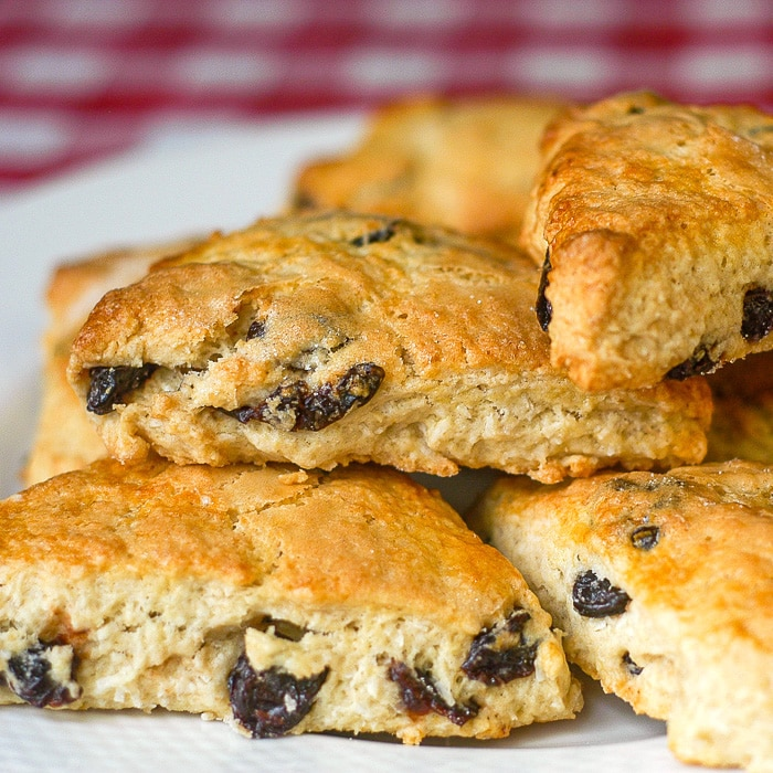 Cherry Coconut Scones square cropped photo for featured image