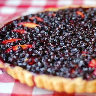 Blueberry Nectarine Tart