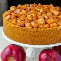 Sour Cream Apple Flan
