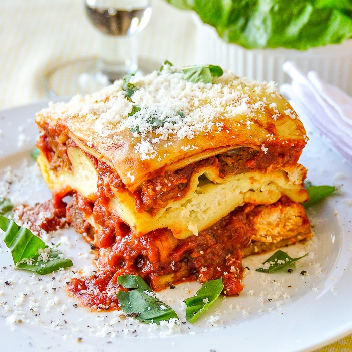 Chicken Chorizo Lasagna featured image