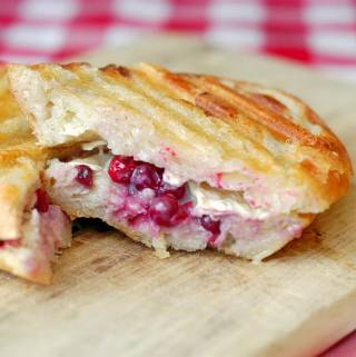 Partridgeberry, Brie and Honey Panini