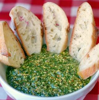 Almond and Italian Parsley Pesto