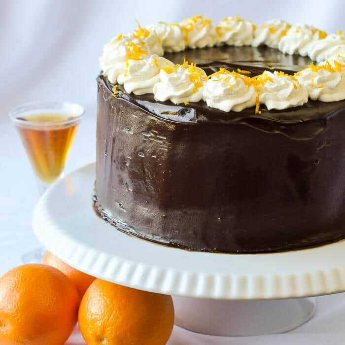 Make Orange Cointreau Cake