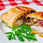 Chicken Wellington with Country Cranberry Pecan Stuffing
