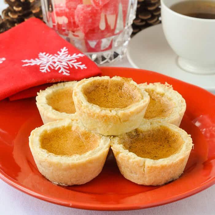 The Best Canadian Butter Tarts christmas image