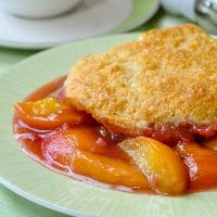Screechin' Peach Cobbler