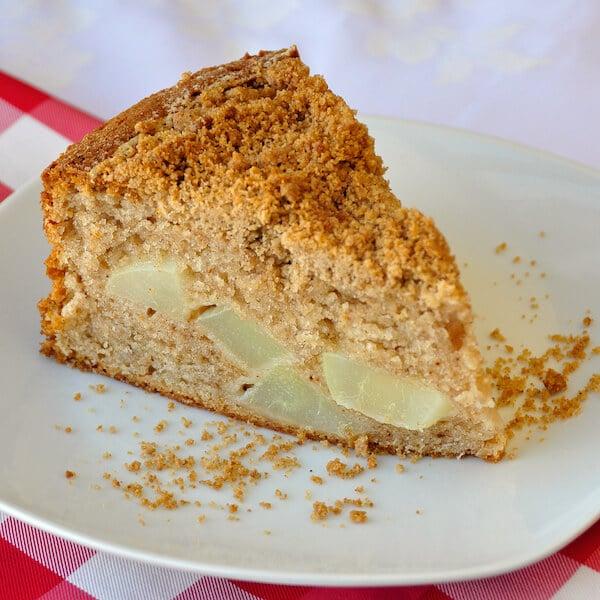 Streusel Spice Pear Cake
