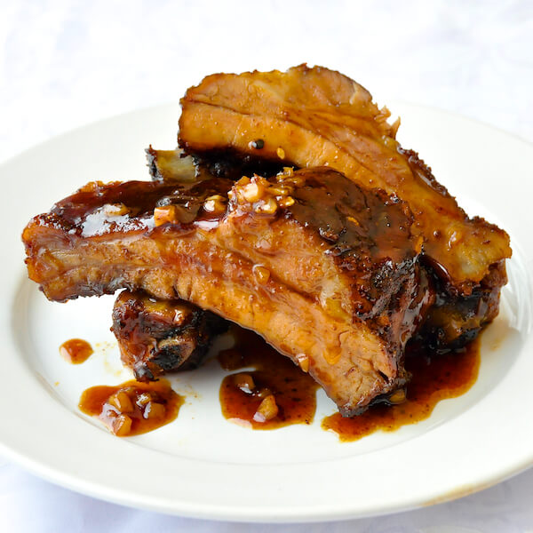 Oven Baked Orange Ginger Hoisin Ribs
