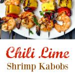 Chili Lime Shrimp Kabobs