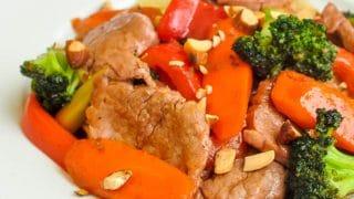 Stir Fried Chinese Pork Tenderloin