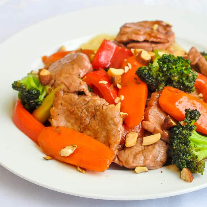 Stir Fried Chinese Pork Tenderloin