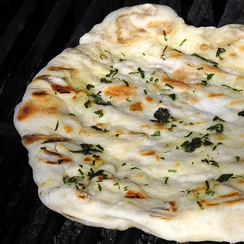 Grilled Flatbreads, Garlic Oil and a Brunch Idea