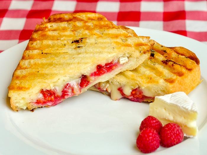 Raspberry Brie Panini