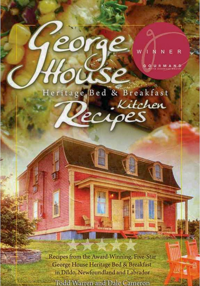 Cover photo of George House Recipes cookbook