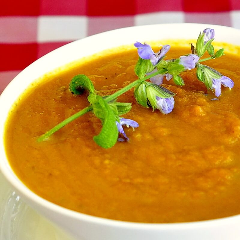 Roasted Carrot Soup with Five Spice, Curry and Smoked Paprika - Rock ...