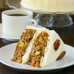 Pecan Pineapple Carrot Cake