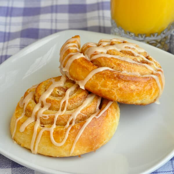 Danish Pastry Cinnamon Rolls