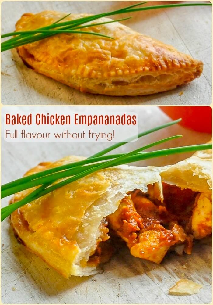 how to make chicken empanadas