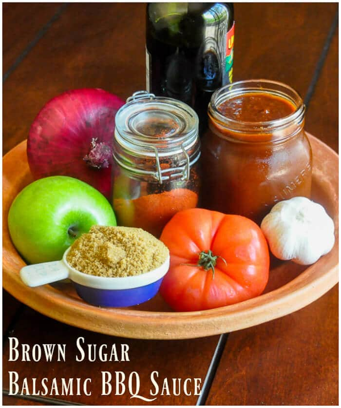 Brown Sugar Balsamic Barbecue Sauce