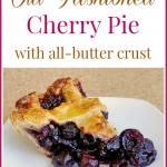 The Best Cherry Pie