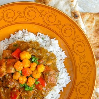 Bakeapple Chicken Curry close up featured image for Google