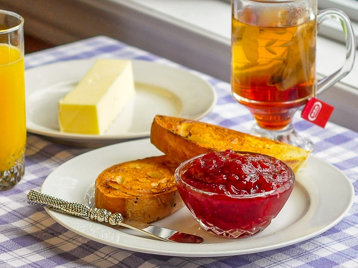 Cherry Apple Jam, perfect on morning toast