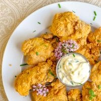 Chicken Fried Fish Nuggets