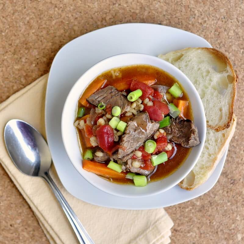 Steak Tomato and Smoked Paprika Soup - Rock Recipes - Rock Recipes