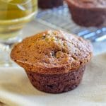 Banana Date Spice Muffins close up photo
