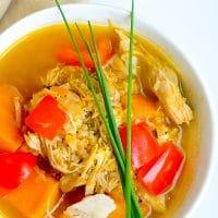 Turkey Quinoa Sweet Potato Soup