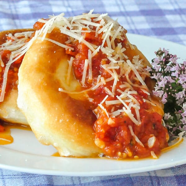 Pizza Fritta or Toutons and Tomatoes!